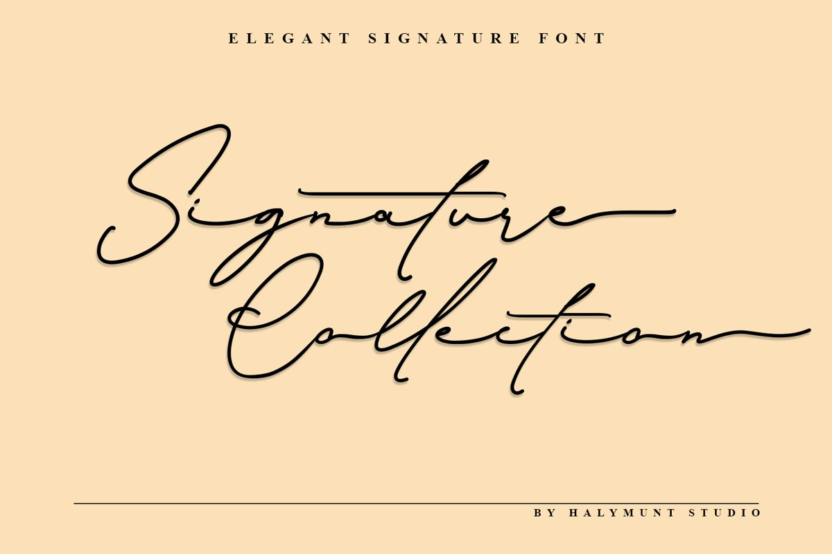 Signature Collection example image 1
