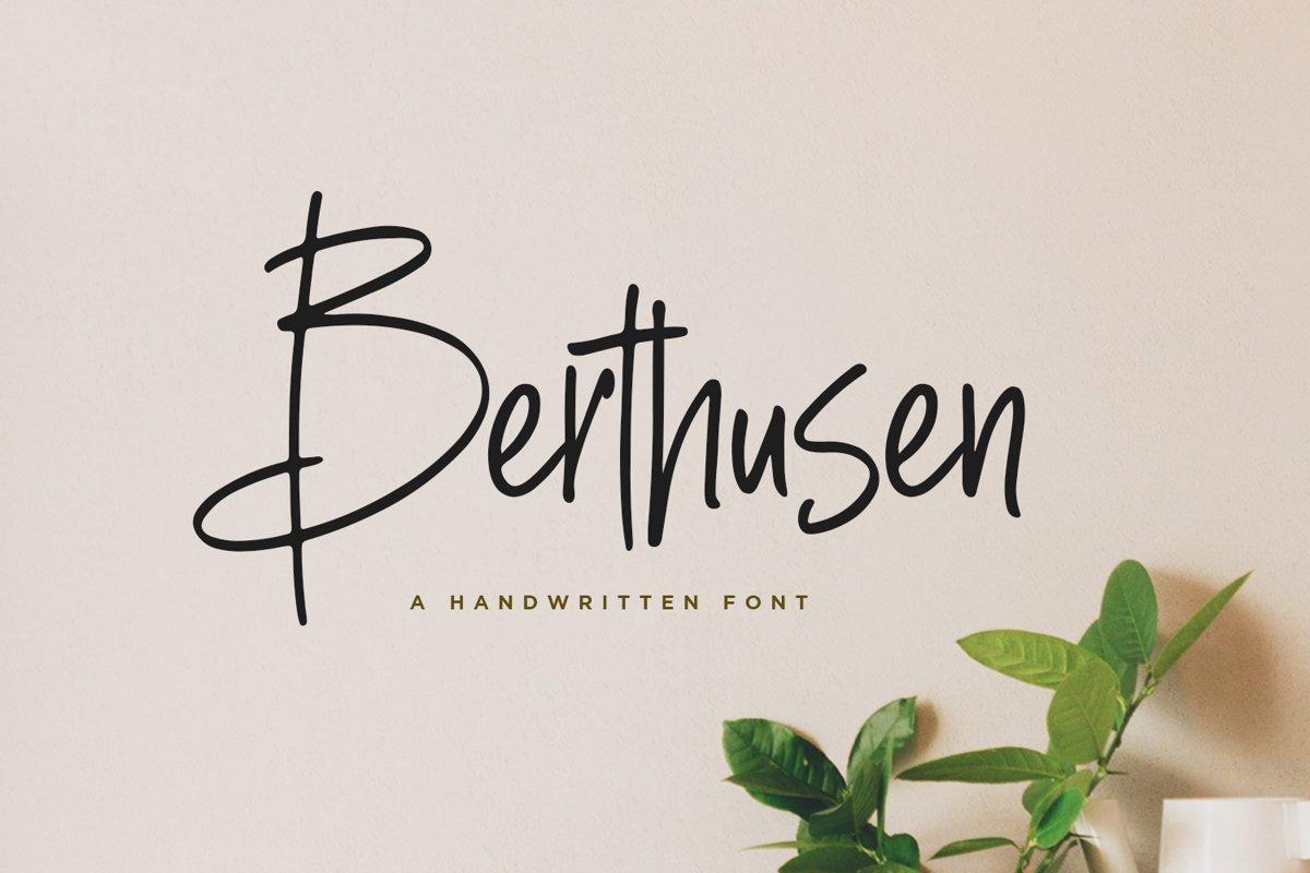 Berthusen example image 1