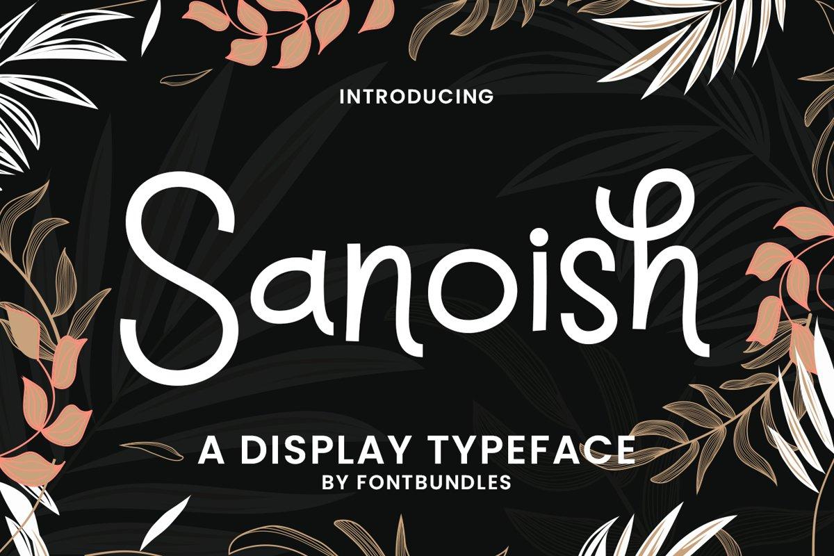 Sanoish example image 1