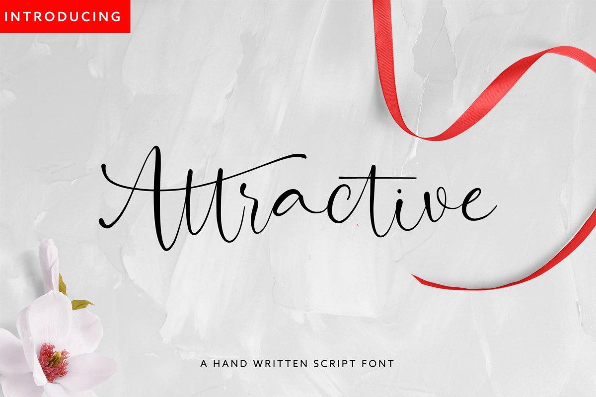 Attractive Modern Handwritten example image 1