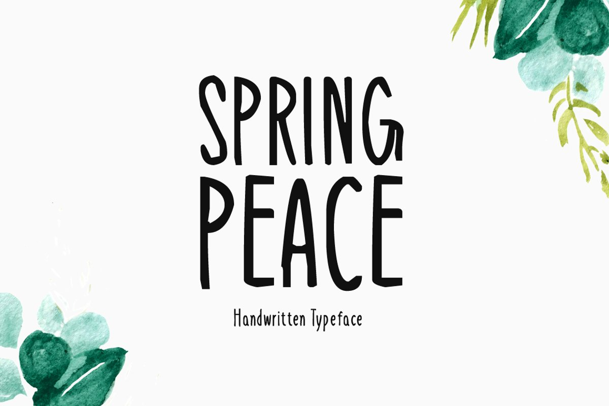 Spring Peace example image 1