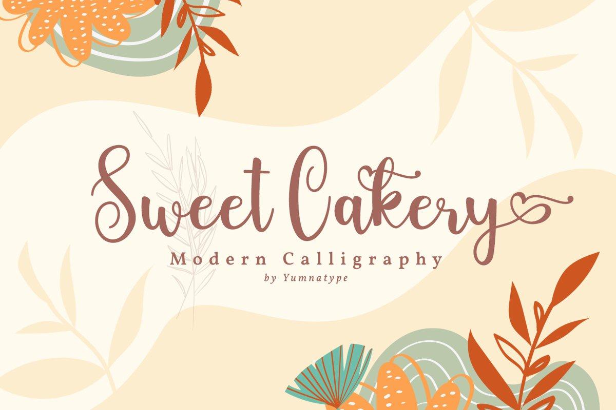 Sweet Cakery Script example image 1