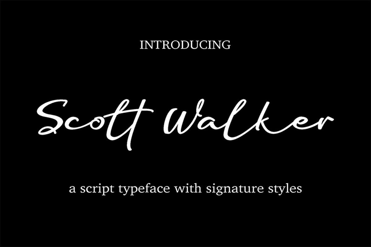 Scott Walker example image 1