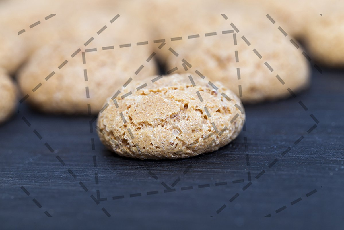 small round biscuit example image 1