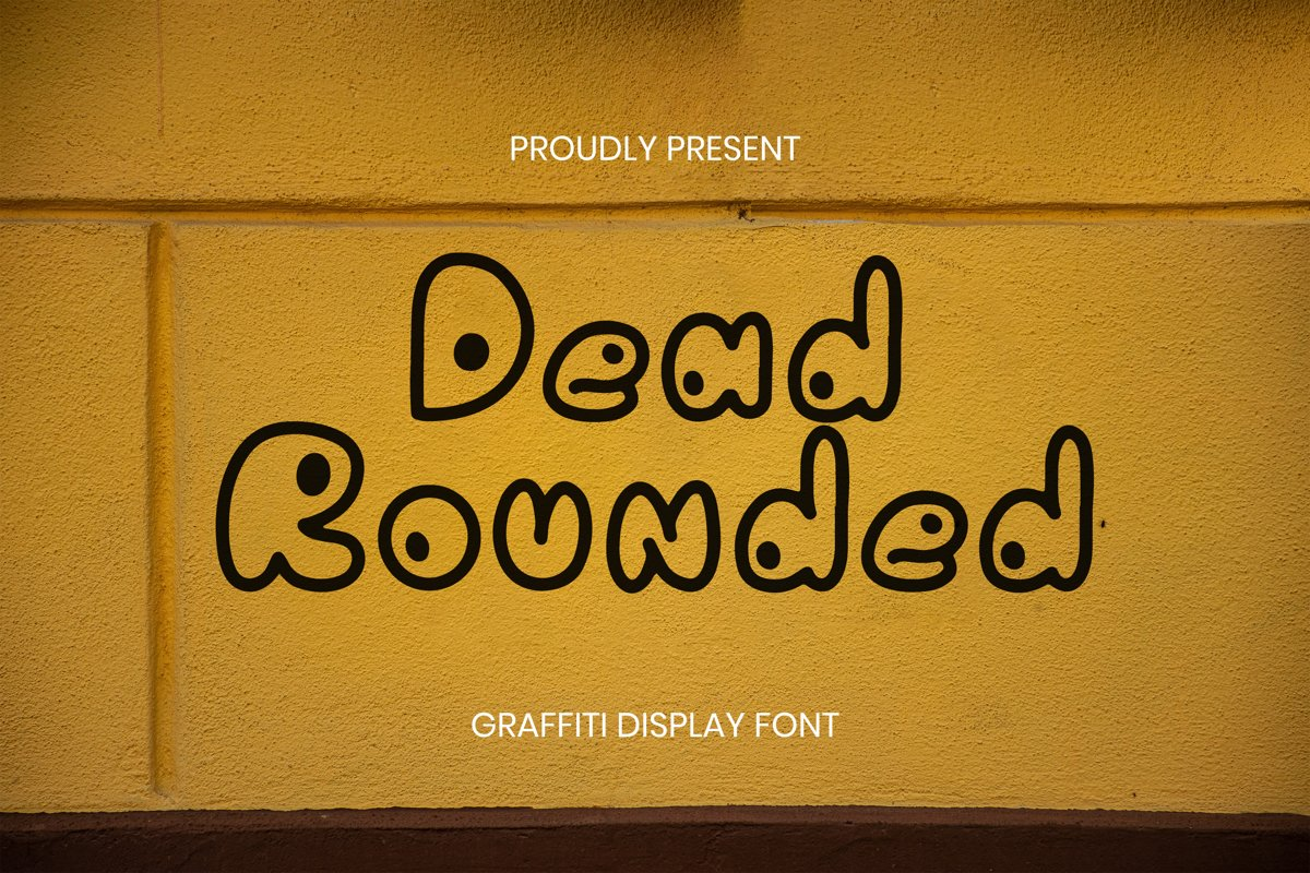 Dead Rounded Font example image 1