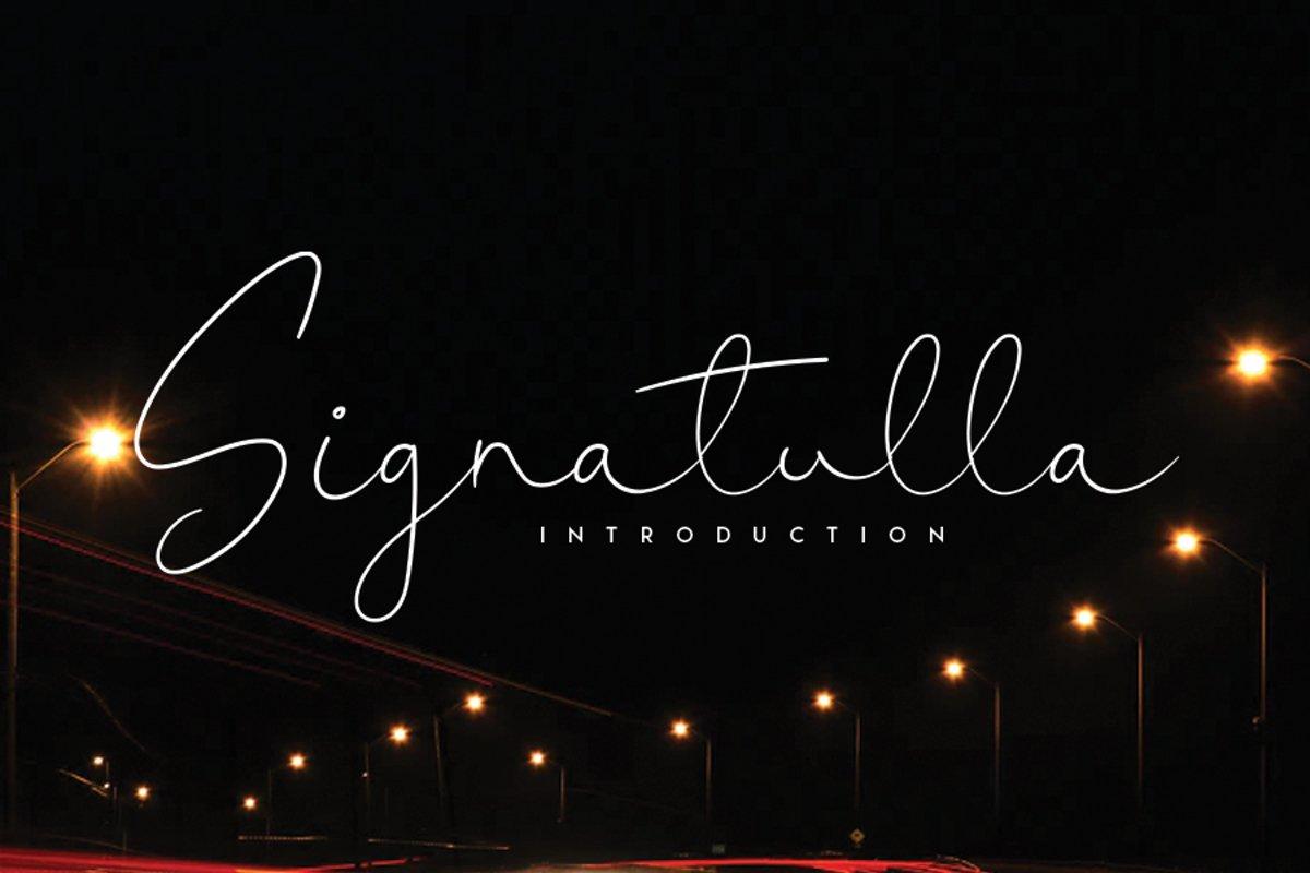 Signatulla example image 1