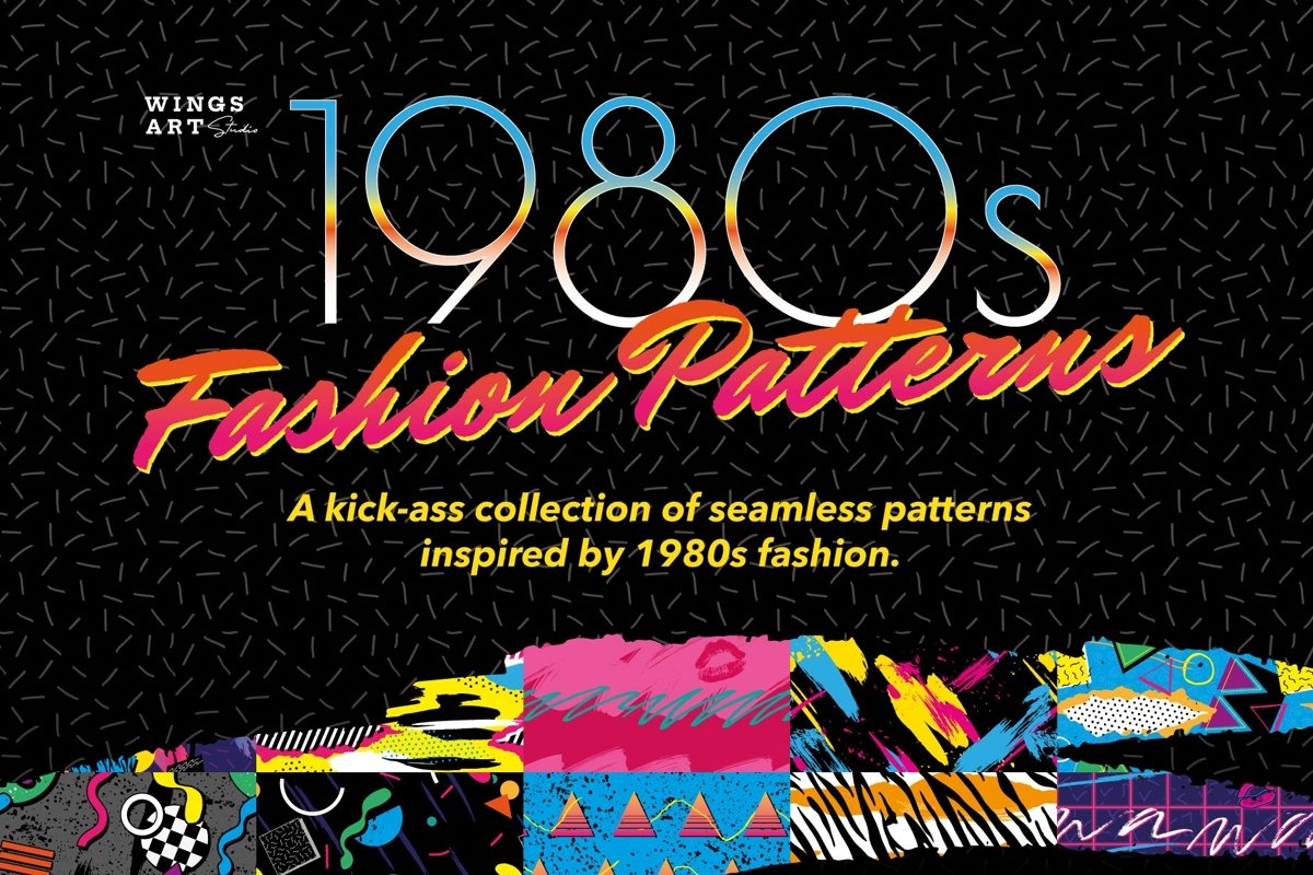 1980s Fashion Patterns Volume One example image 1