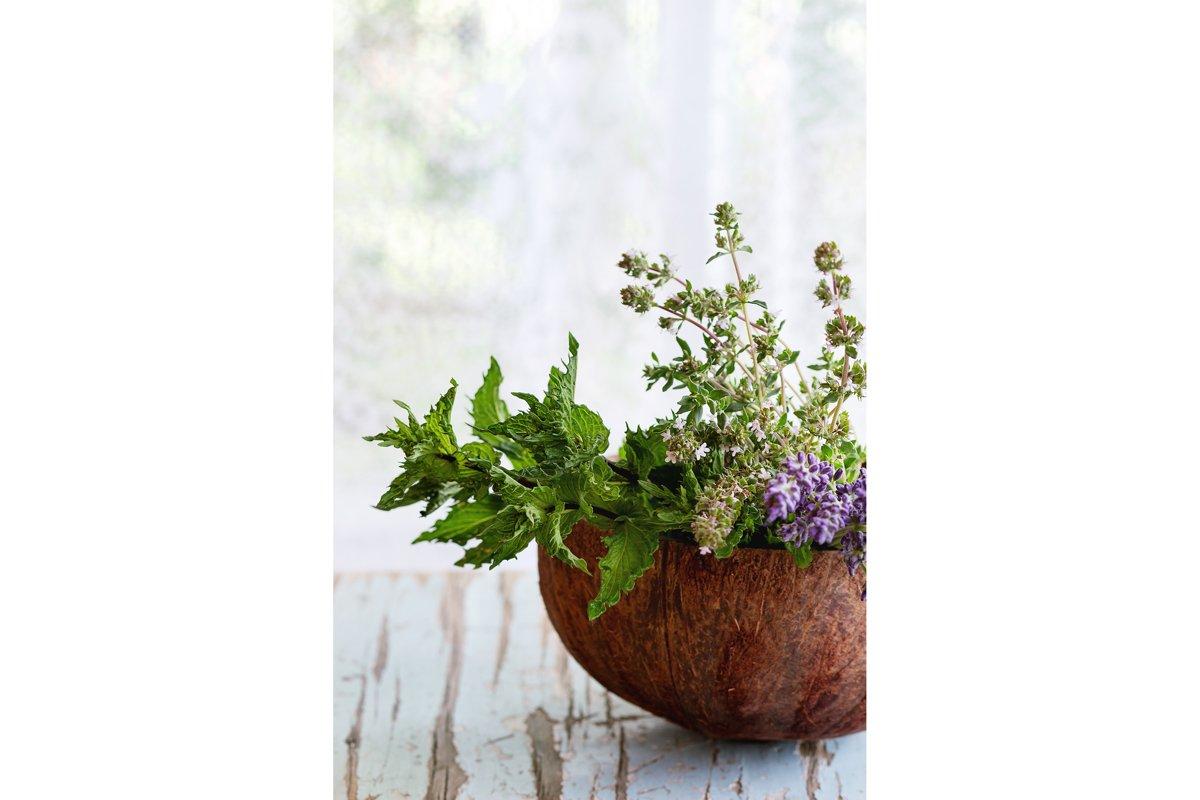 Bouquet of garden herbs example image 1