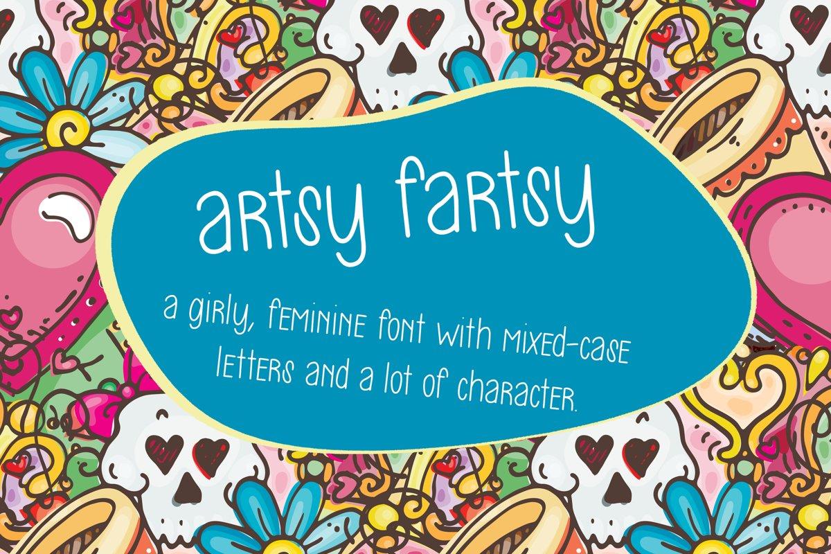 Artsy Fartsy example image 1
