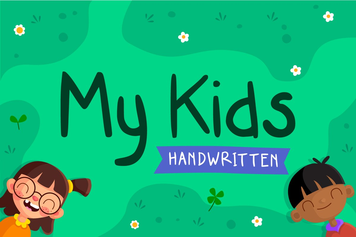 My Kids Handwritten example image 1