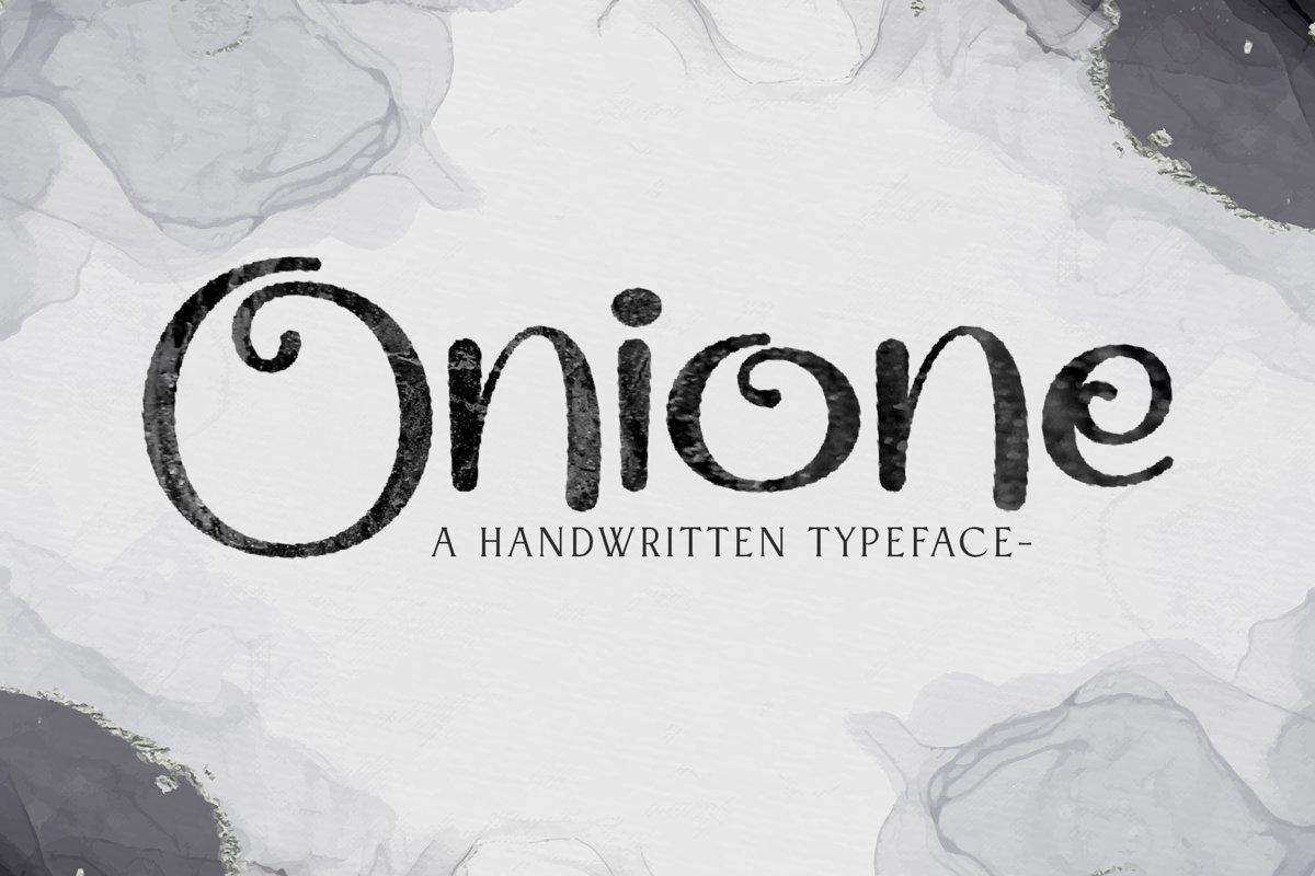 Onione example image 1