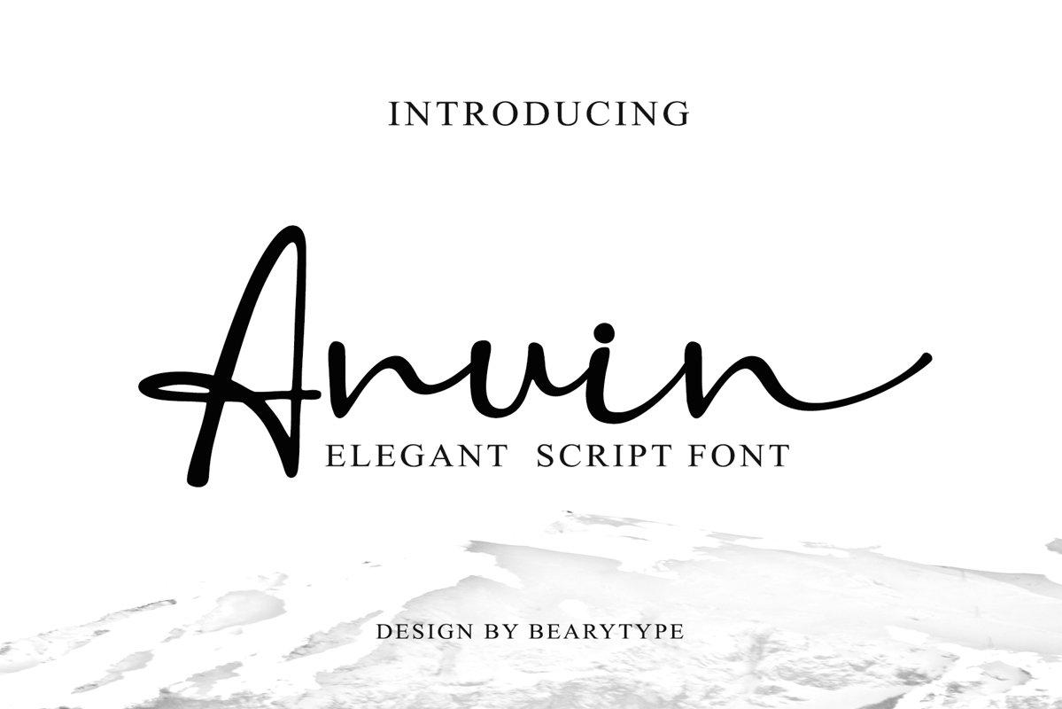 Anuin Script example image 1