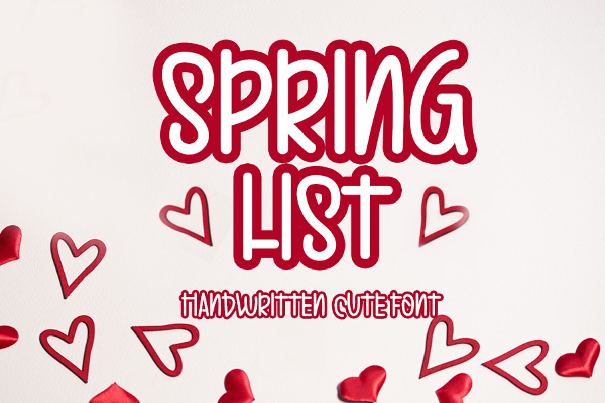 Spring List example image 1