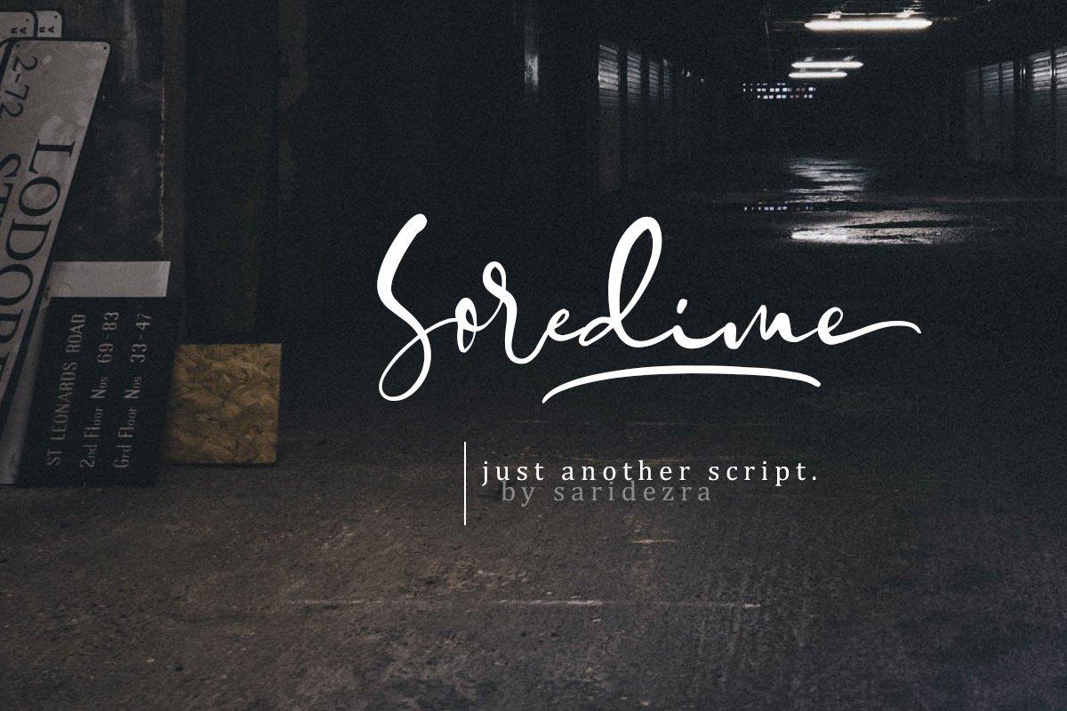 Soredime - Signature Script example image 1