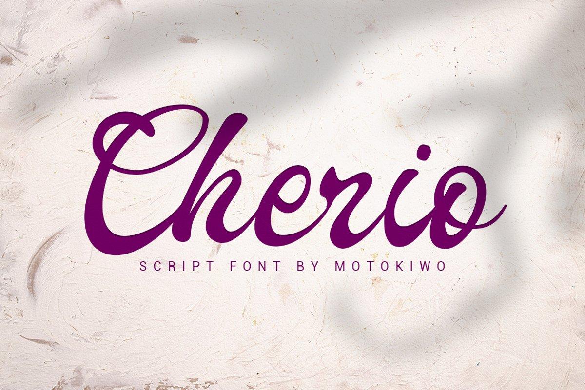 Cherio example image 1