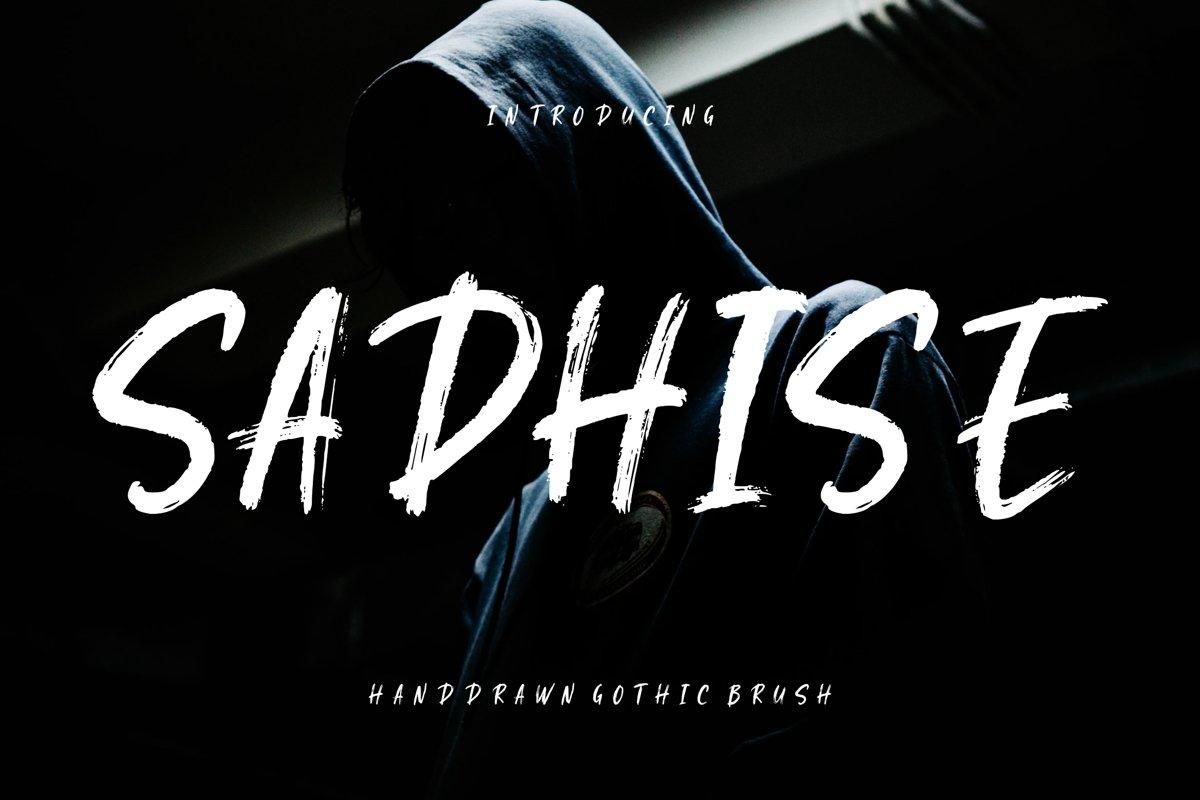 Sadhise Handdrawn Gothic Brush example image 1