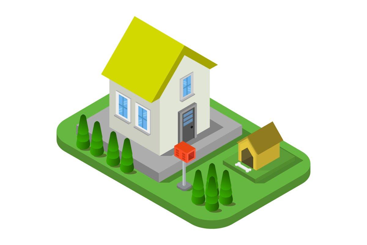 isometric house example image 1