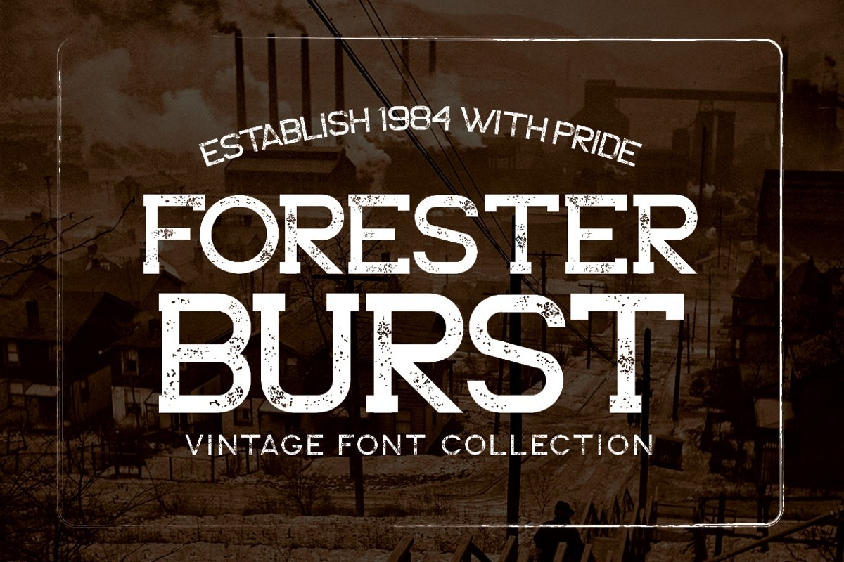 Forester Family Font example image 1