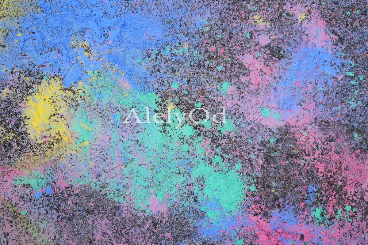 Fluid Art. Abstract colorful background, wallpaper. example image 1