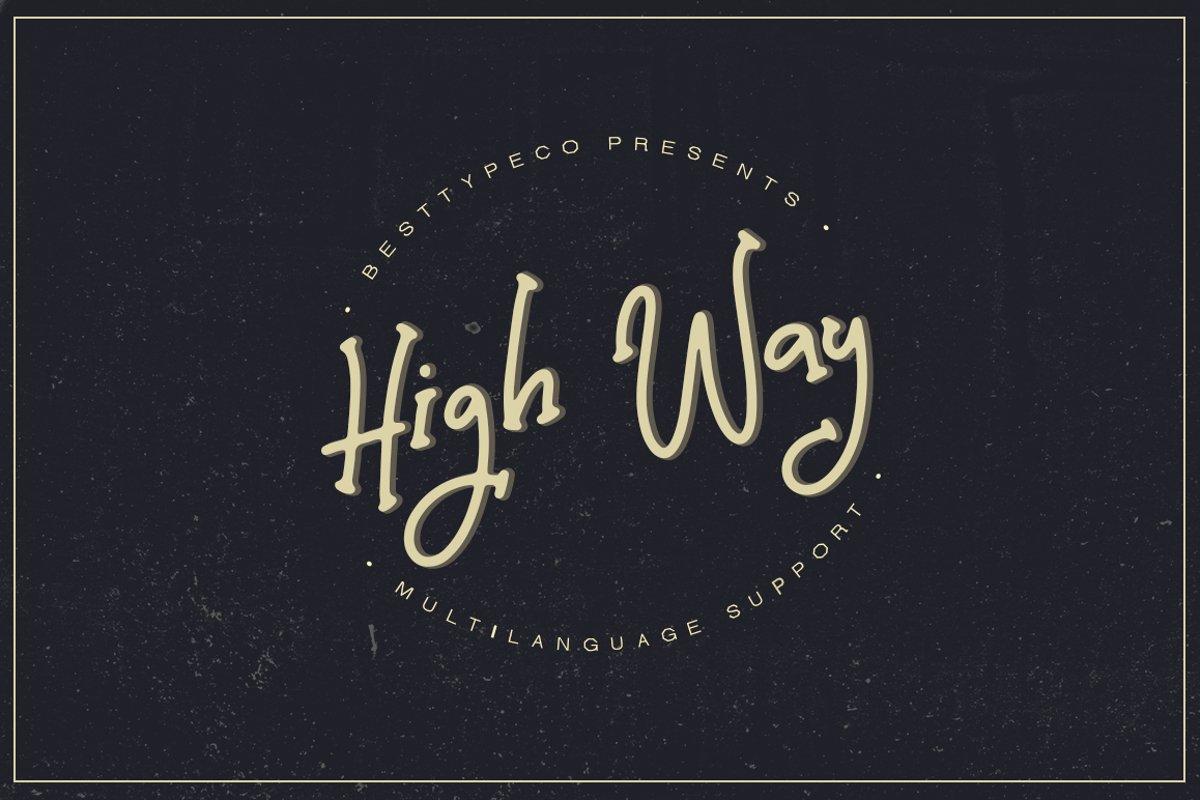 High Way example image 1