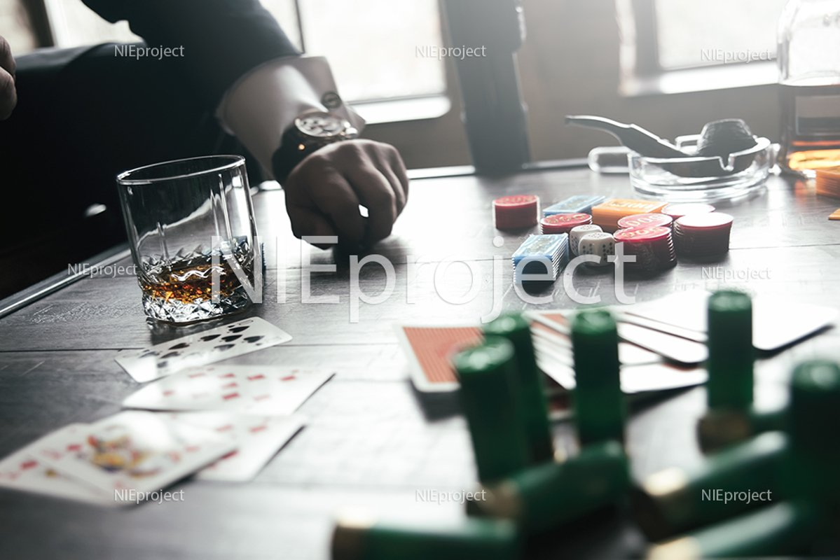 game of two mafia businessmen in poker,adult entertainment example image 1