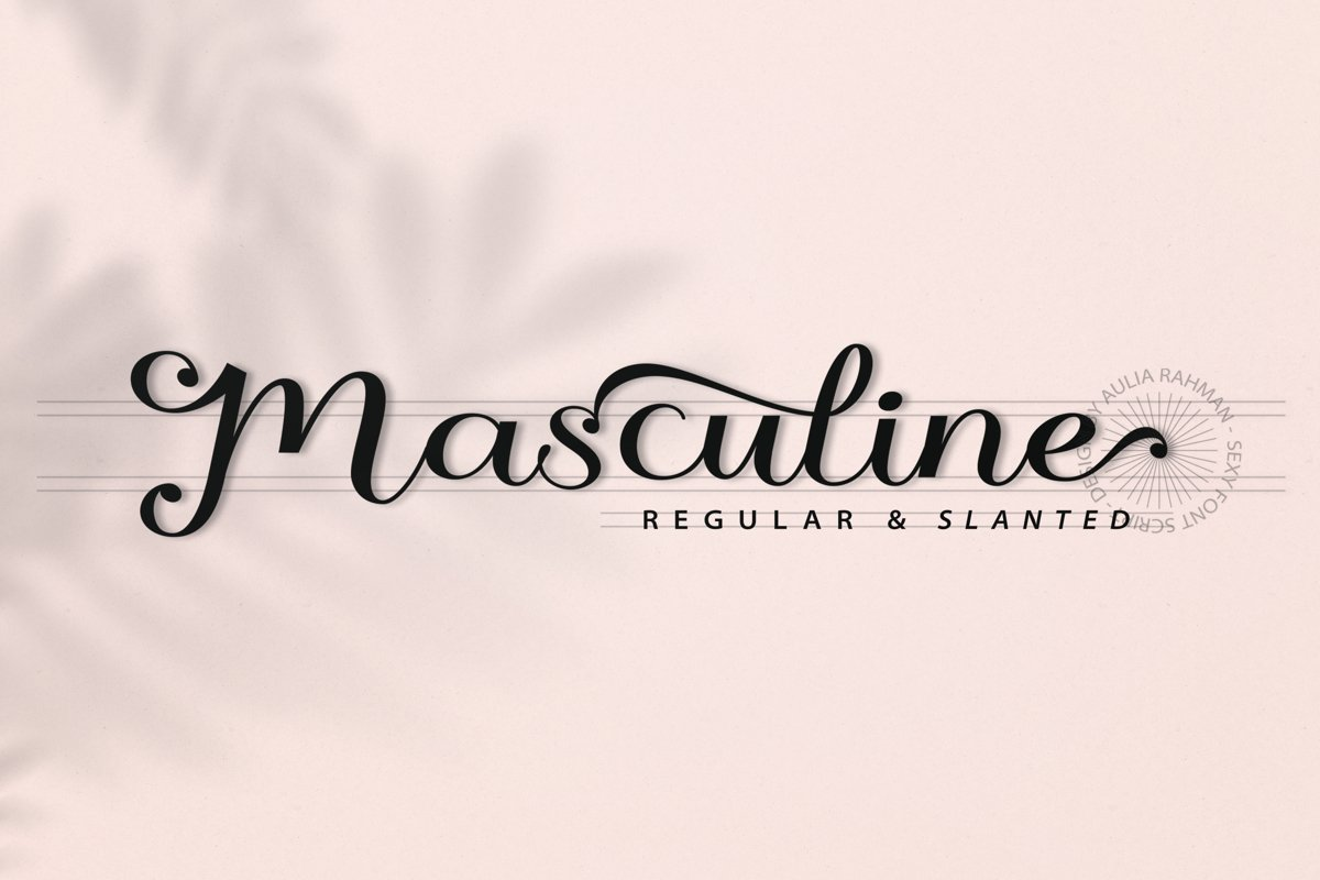 Masculine - Two Style example image 1