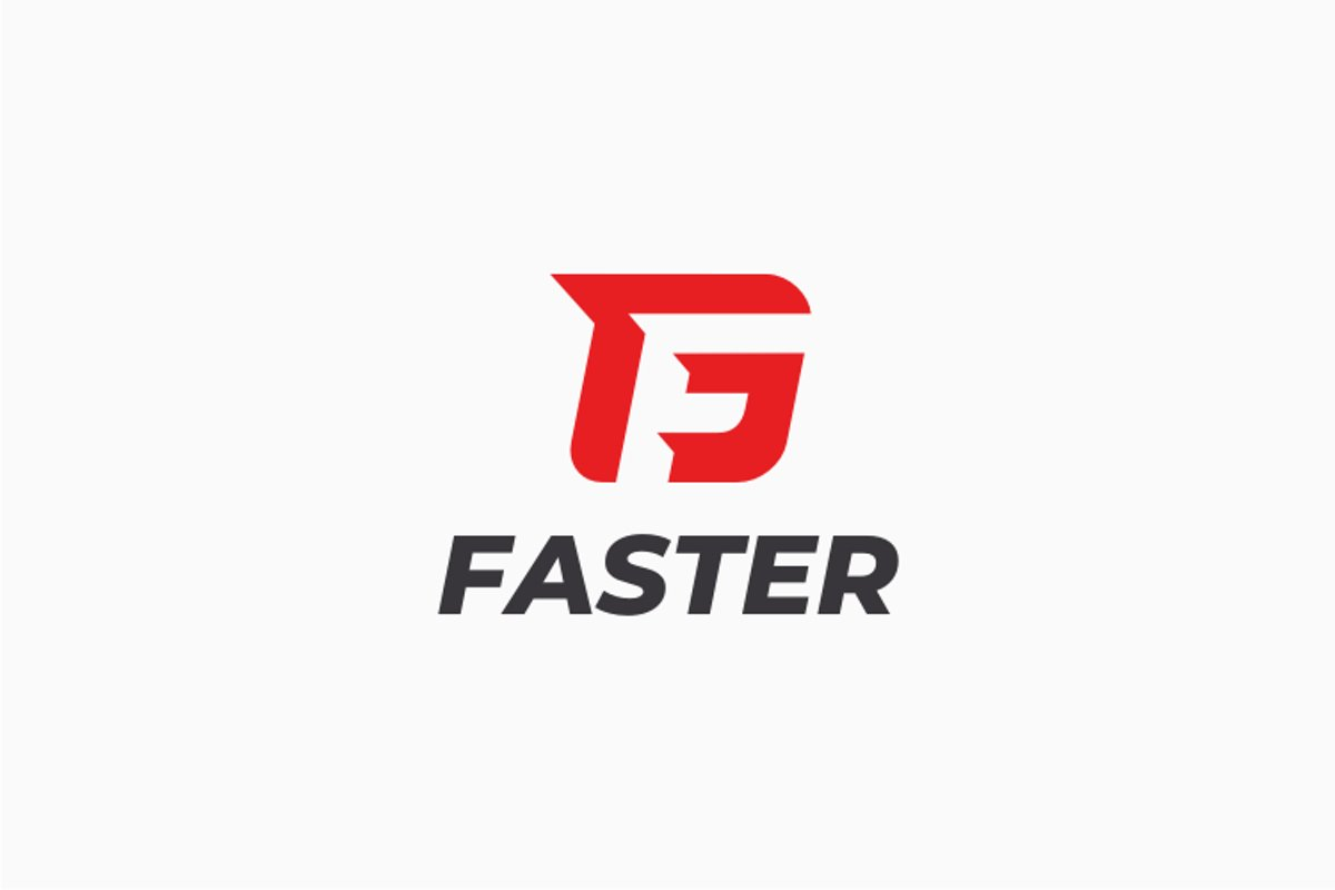 Faster - Letter F Logo example image 1