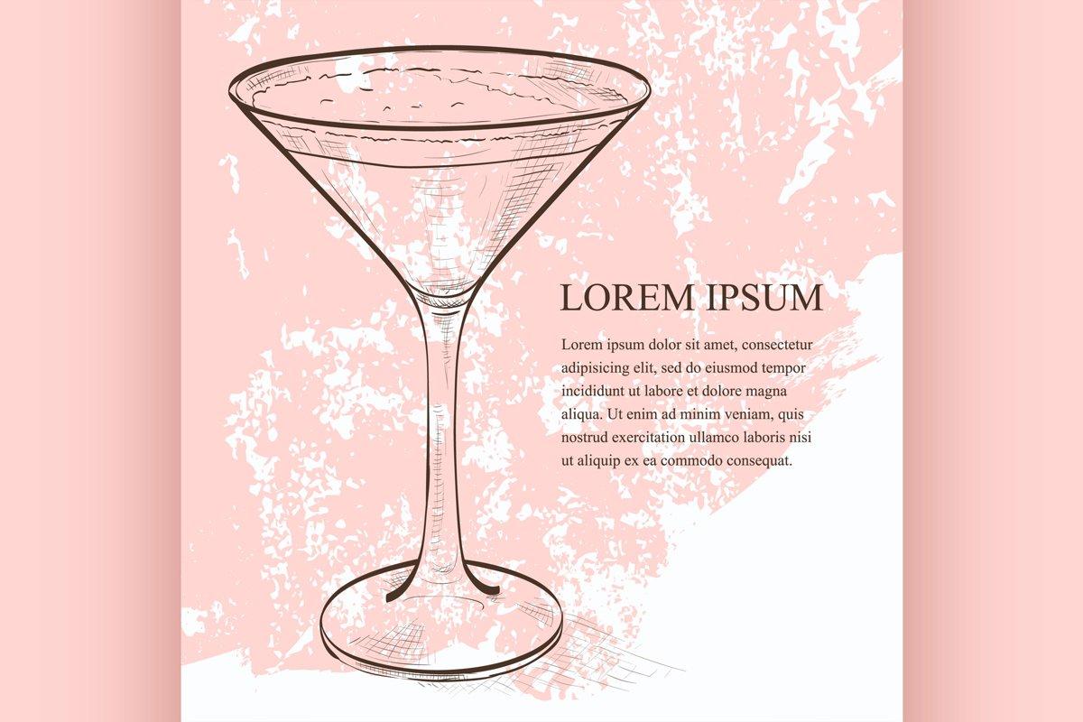Cocktail Espresso Martini scetch example image 1