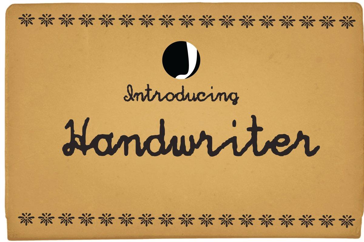 Hand Writer example image 1