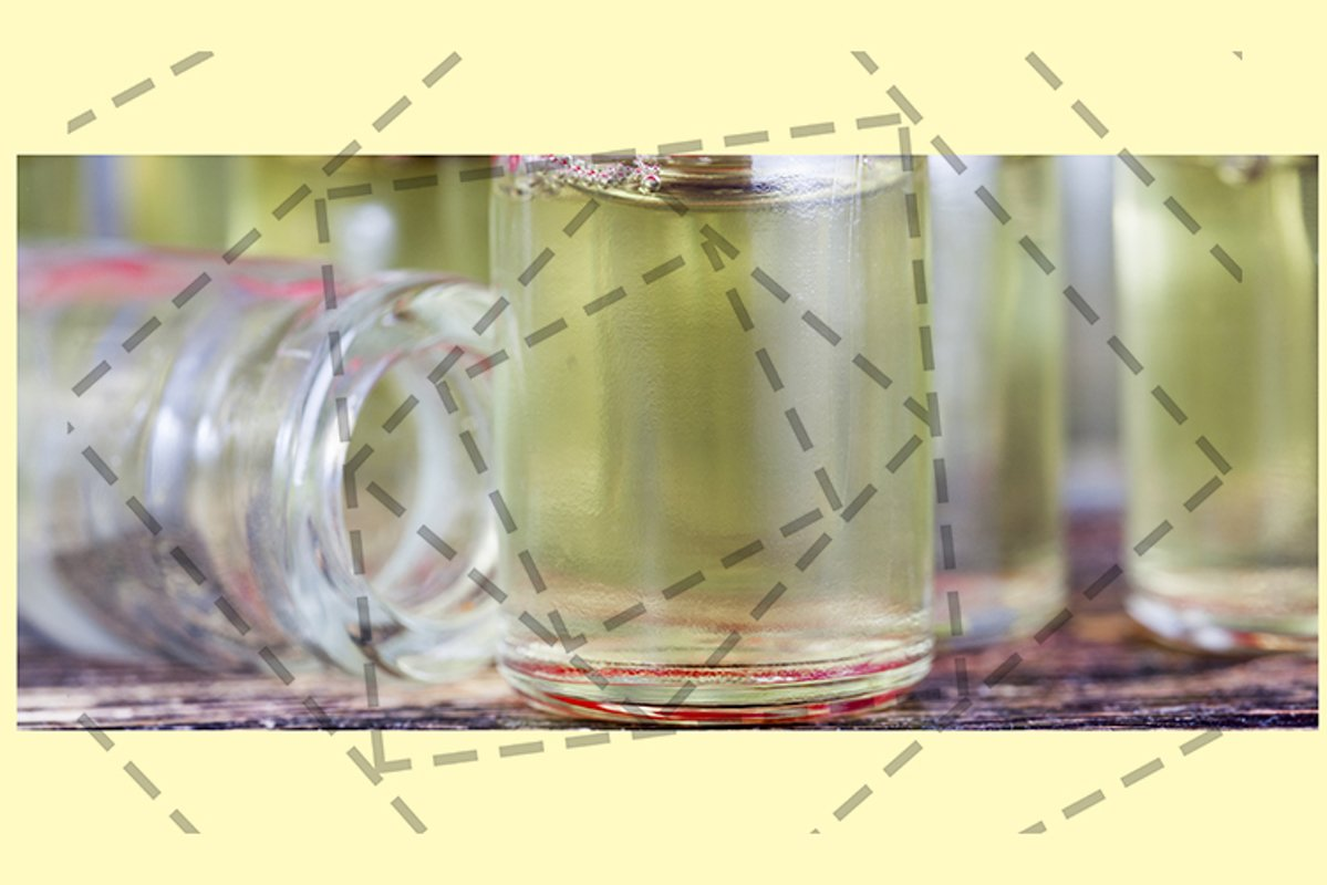 jars with a yellowish cosmetic example image 1