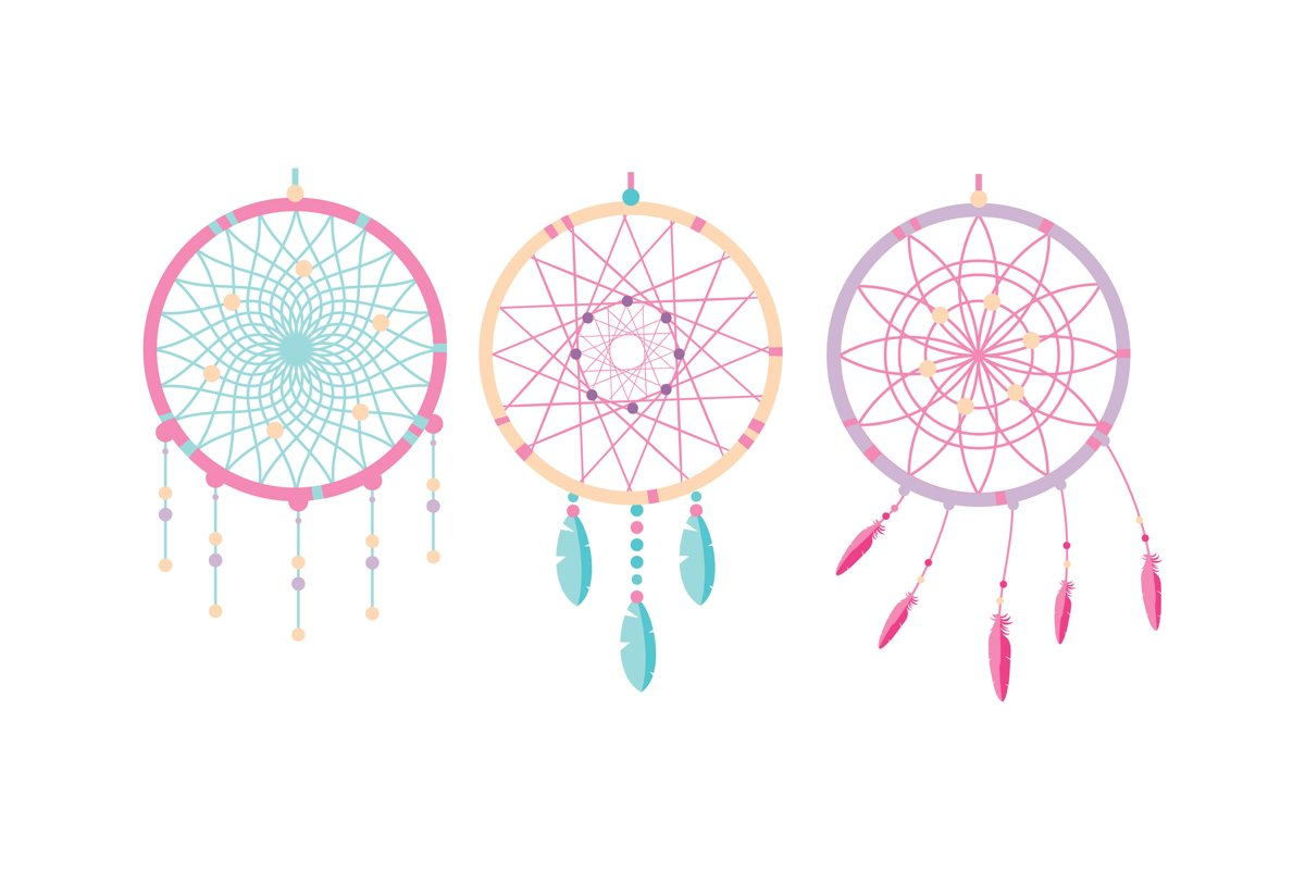 Dreamcatcher Illustrations example image 1