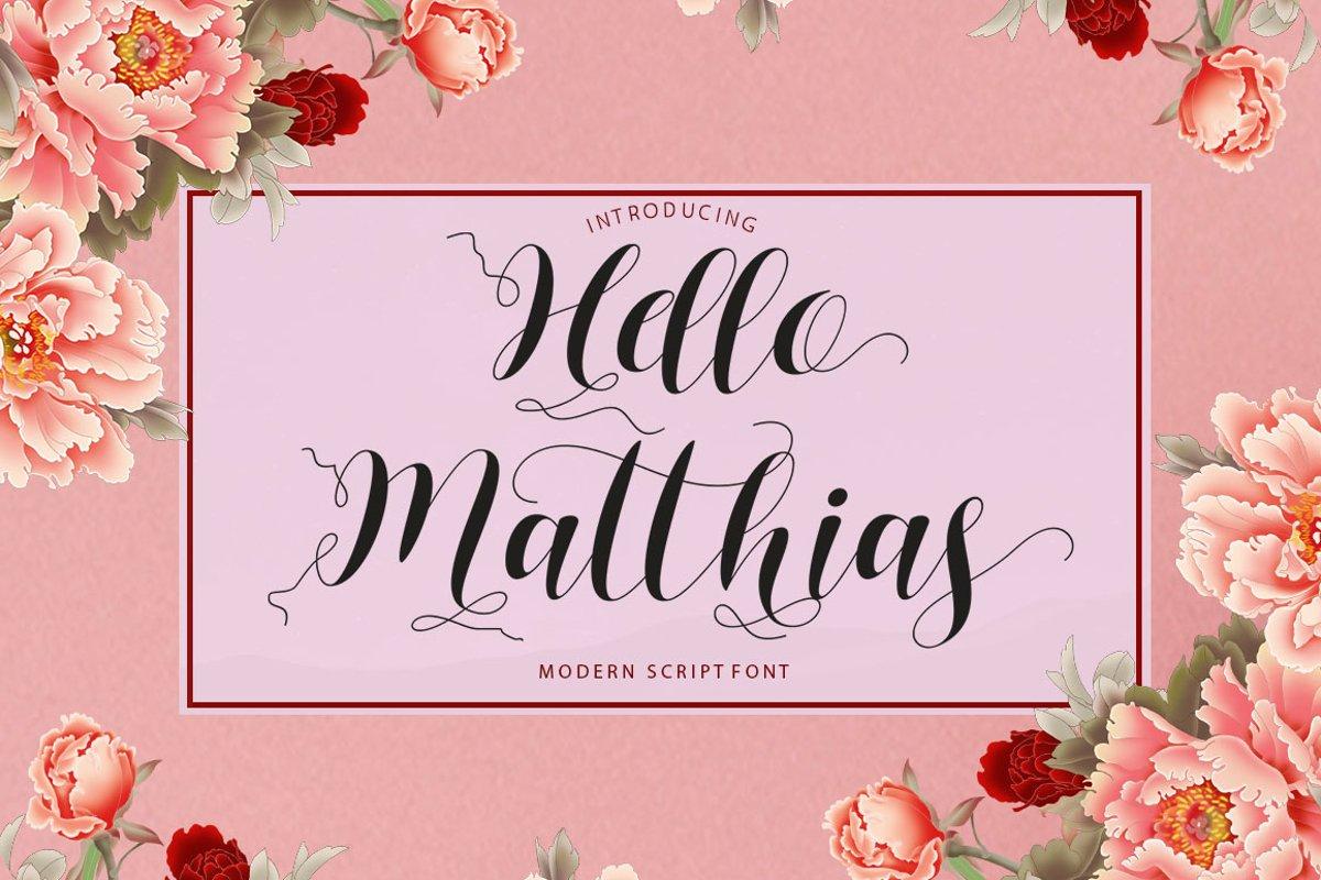 Hello Matthias example image 1