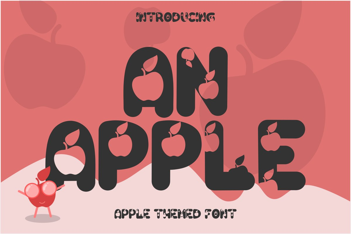 An Apple example image 1