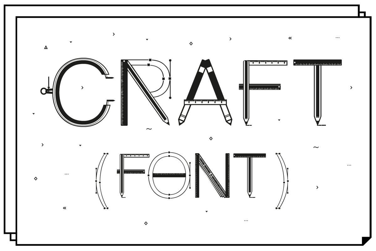 Craft Font example image 1