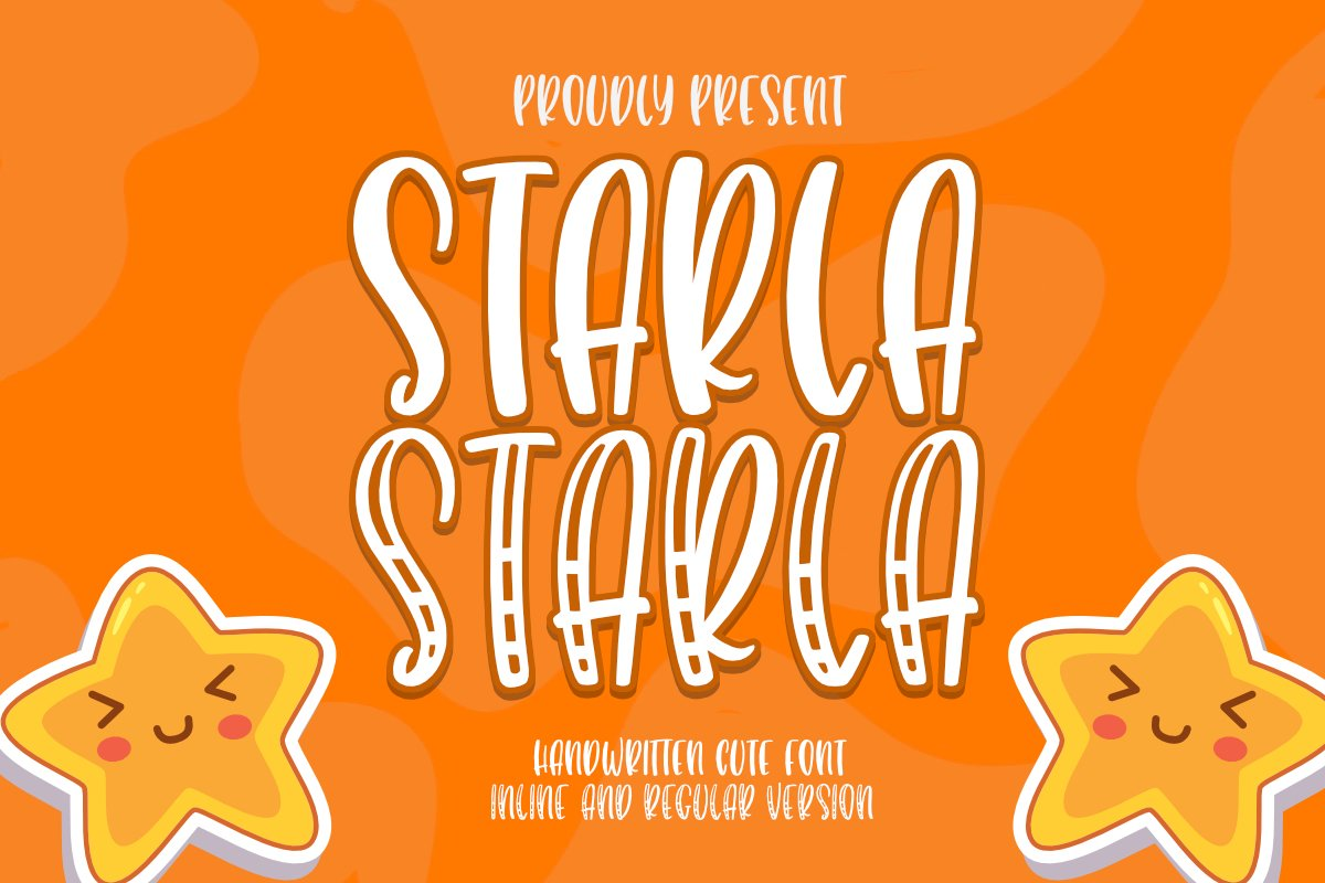 Starla Belovia - Playfull Font example image 1