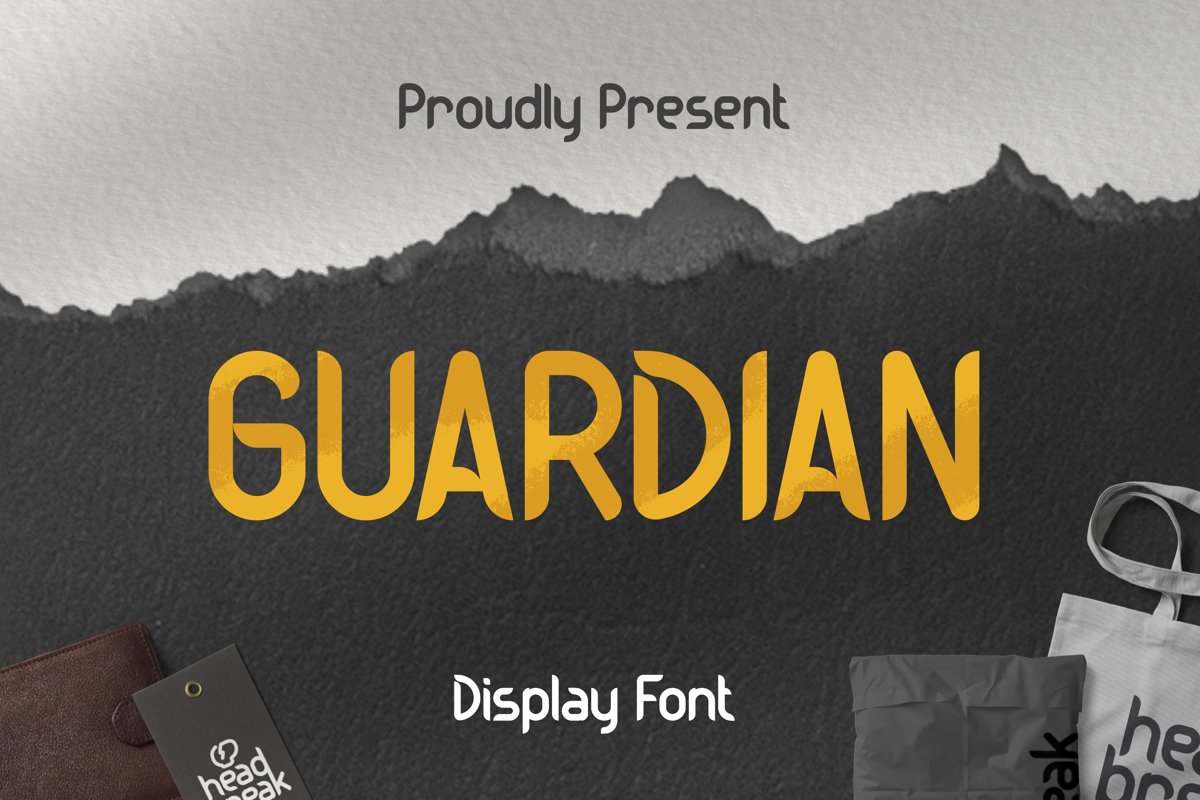 Guardian Font example image 1