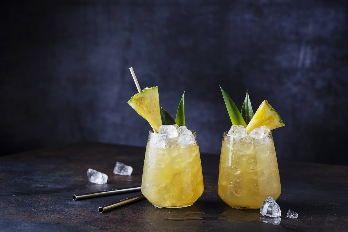 Summer cocktail and bar concept. example image 1