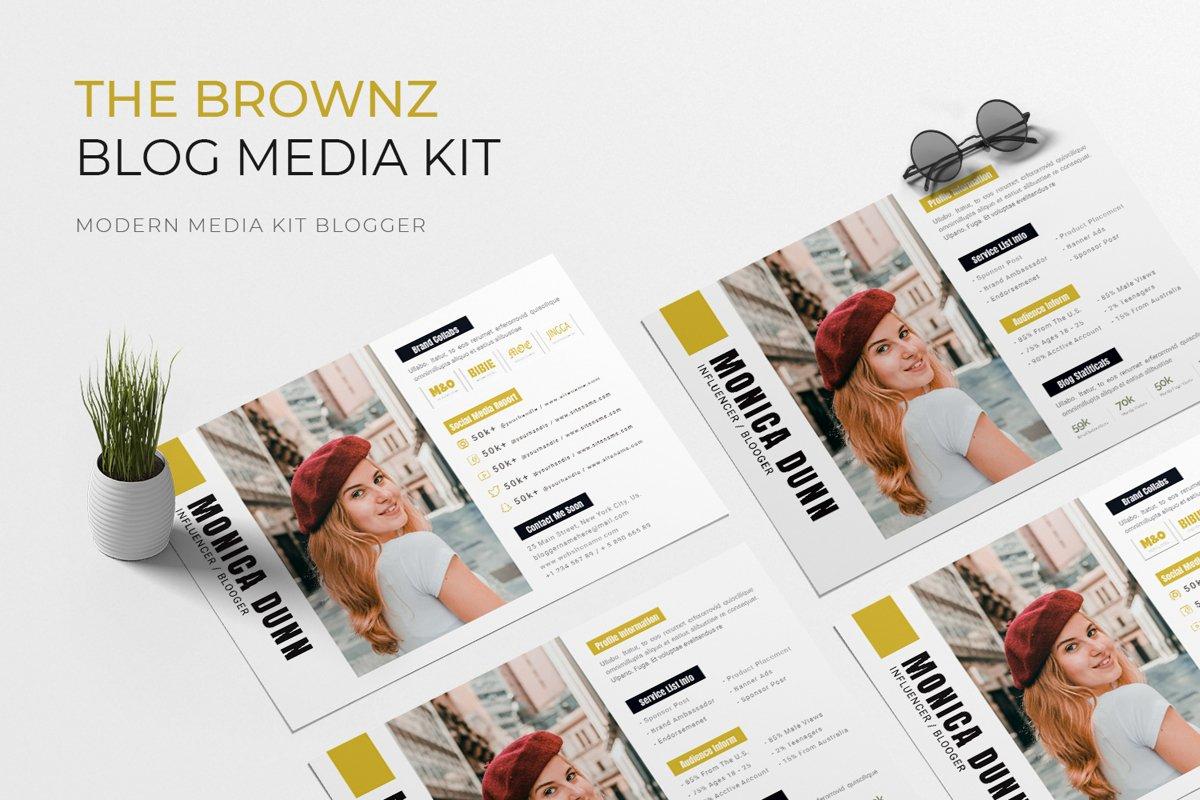 Brownz Media Kit Blog example image 1