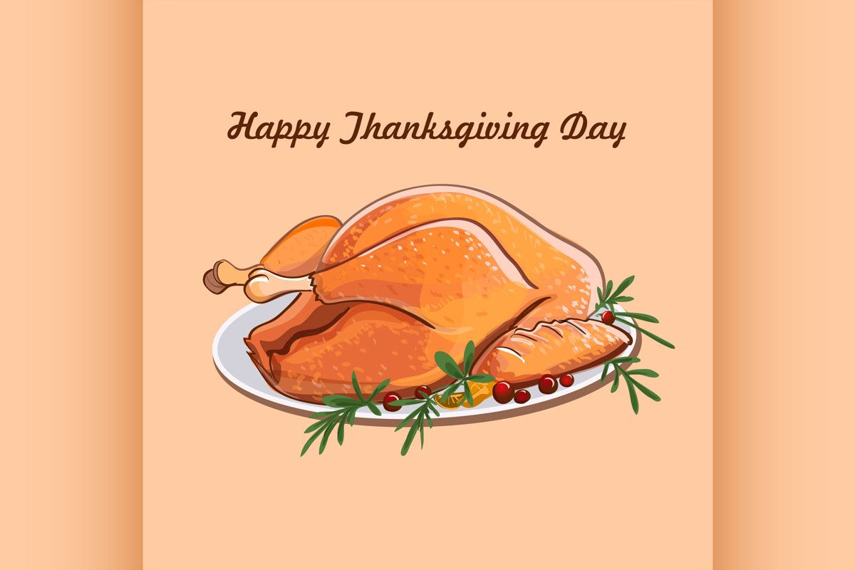 Thanksgiving day sale design example image 1