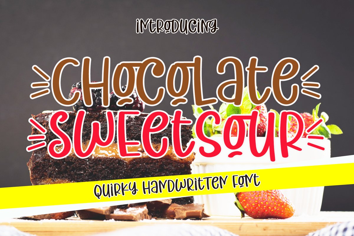 Chocolate Sweetsour example image 1