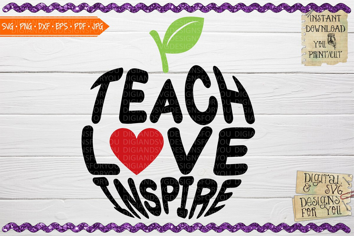 Teach Love Inspire example image 1