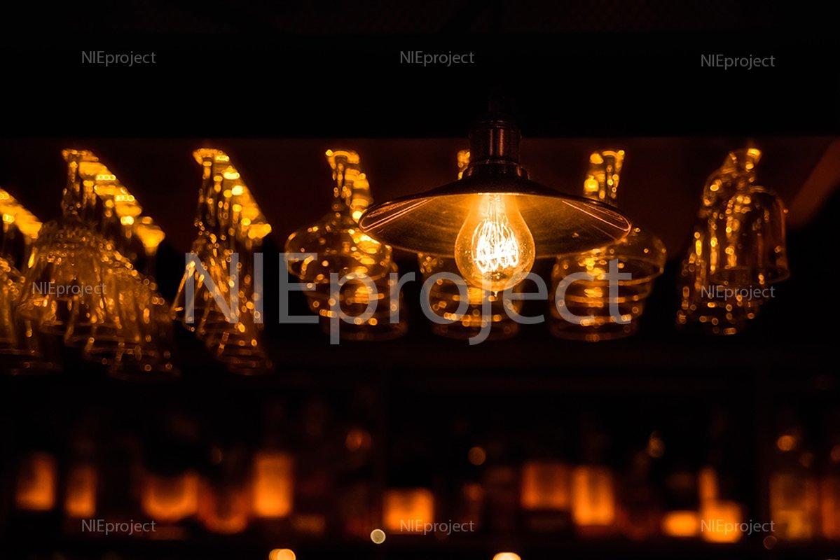 night bar atmosphere. illumination example image 1