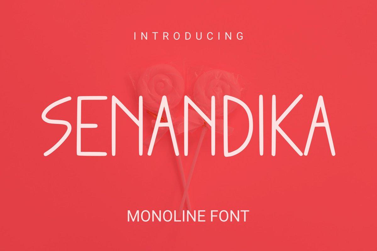 Senandika Font example image 1
