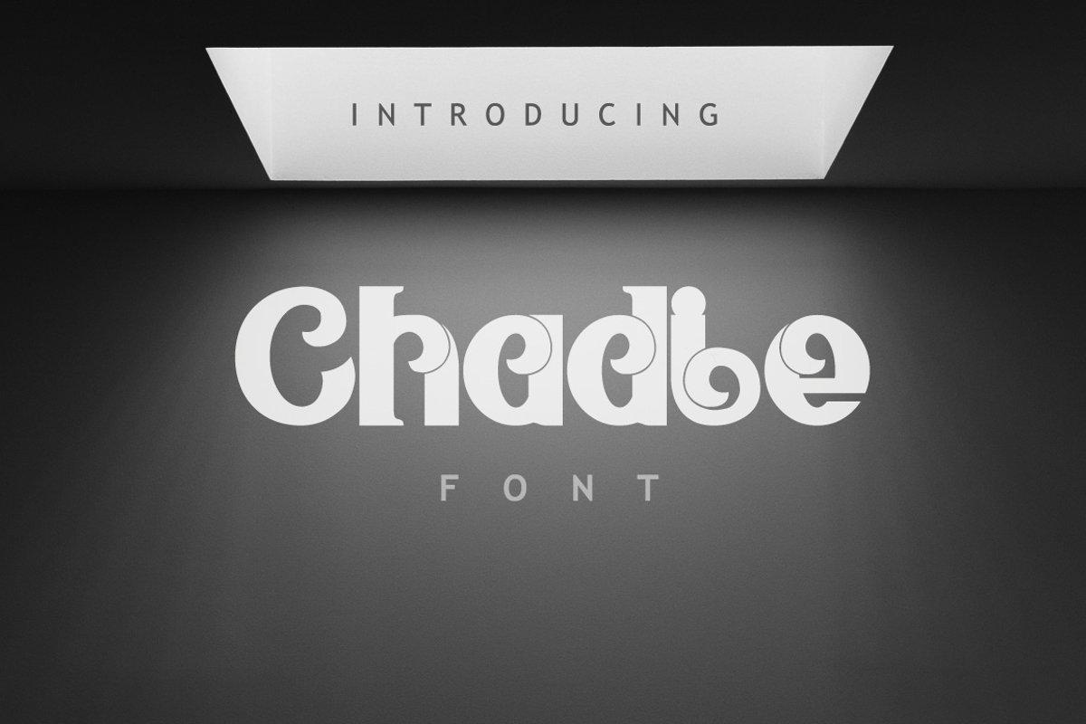 Chadie Font example image 1