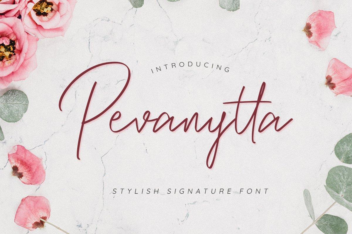 Pevanytta Beauty Script example image 1