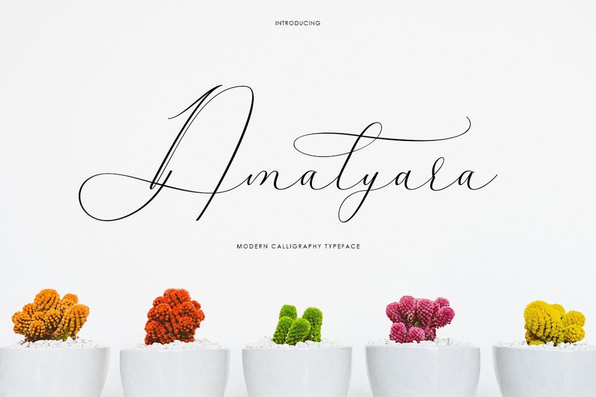 Amalyara Script example image 1