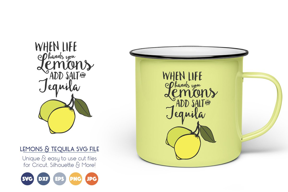 When Life Gives You Lemons SVG File example image 1