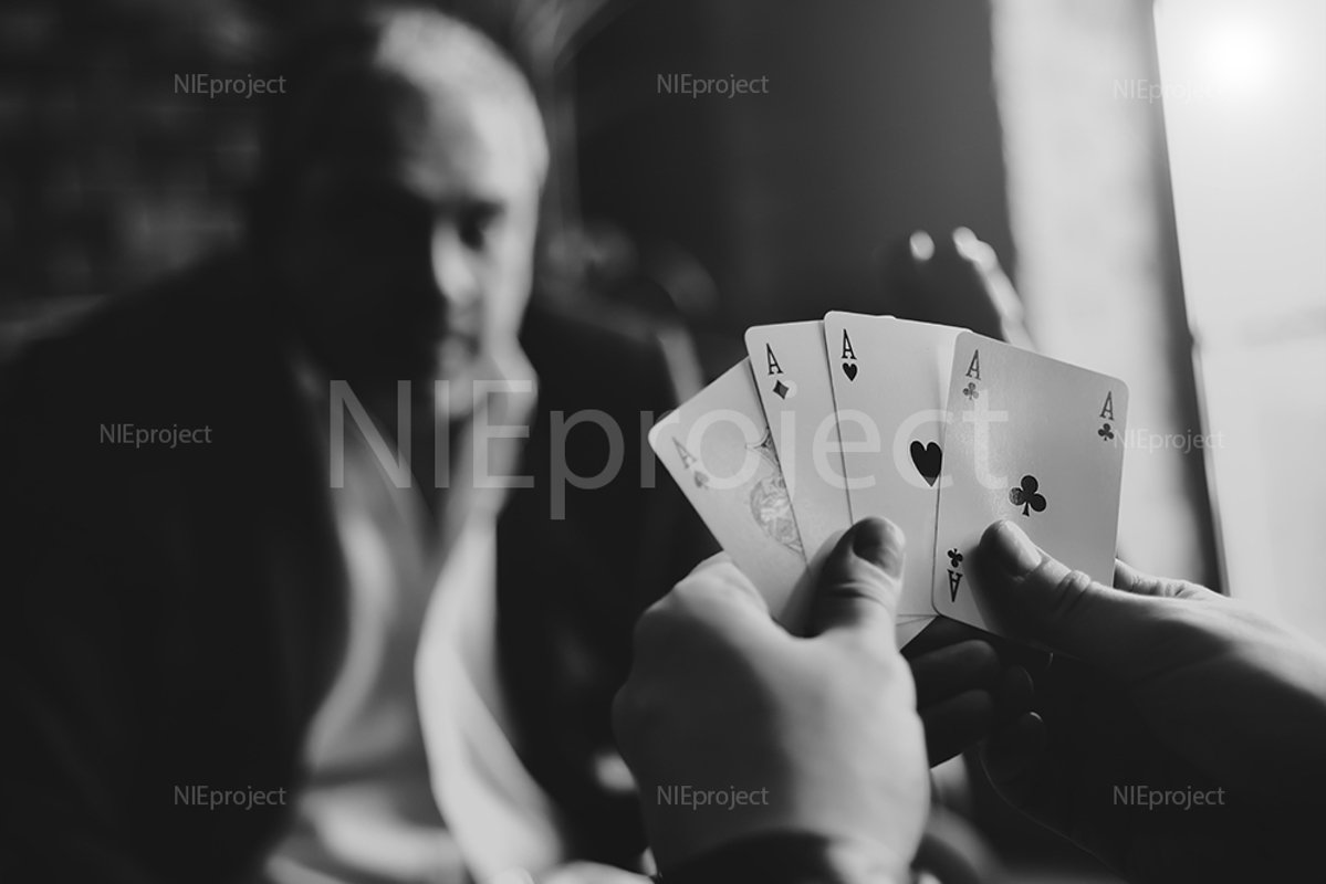 Game of Poker,four of a kind example image 1