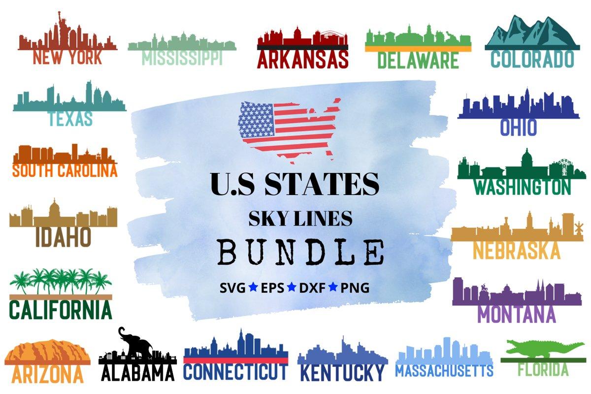 US Skylines Bundle example image 1