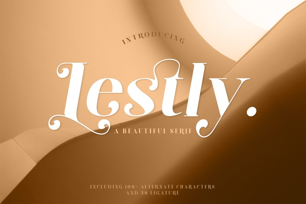 Lestly Fonts example image 1